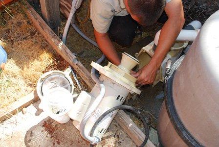 pool pump repairs for pentair motor