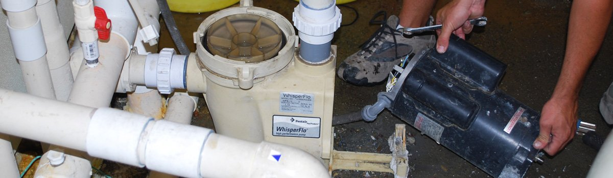 Pool pump repair troubleshooting san diego protouch for Pool pump motor hot not working