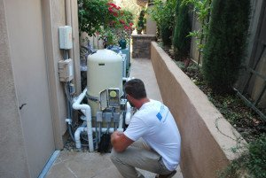 Carmel Valley Weekly Swimming Pool Service Customer