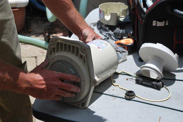 Pool Pump Repair New Motor Installed In Poway Protouch