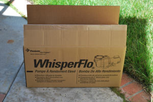 Installed New Whisperflo Booster Pump in Carmel Valley