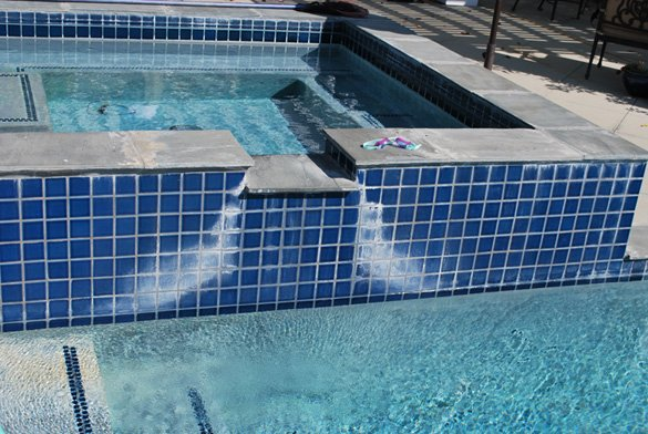 Pool Spa Tile Calcium Removal In Carmel Valley Protouch