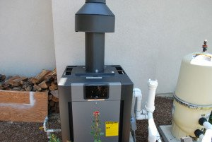 Pool Heater Install With Vent Hood In Rancho Santa Fe