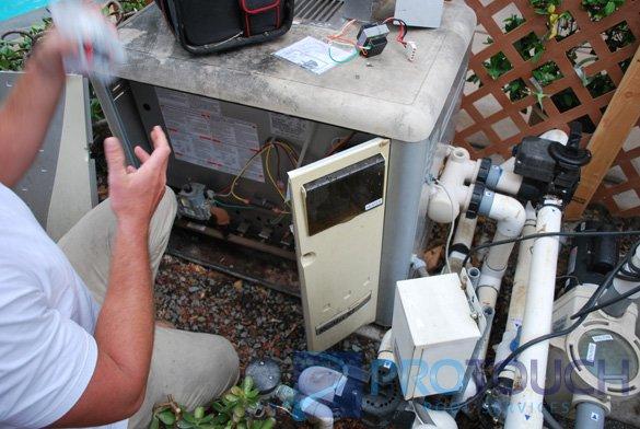 Pentair MiniMax pool heater troubleshooting