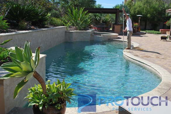 Pool and hot tub cleaning in the crosby estates protouch - Clairemont swimming pool san diego ca ...