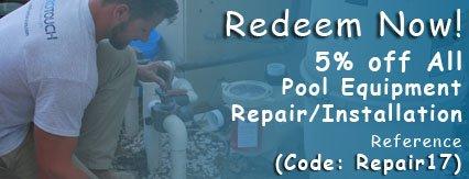 Yelpers recieve pool repair discount