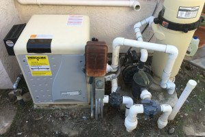 Pentair Pool Heater Installation In Carmel Valley