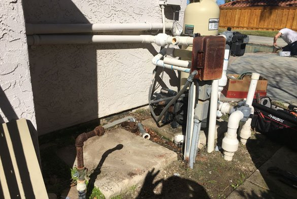 Pentair Pool Heater Installation In Carmel Valley Protouch