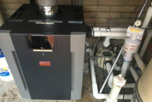 Commercial Pool Heater Replaced In Rancho Bernardo