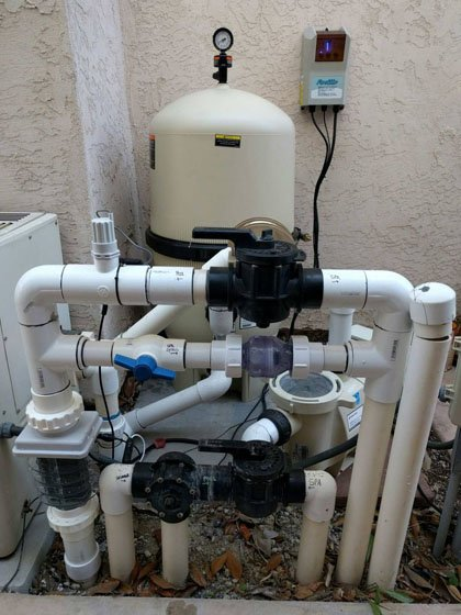 Carmel Valley Swimming Pool Equipment Installation Protouch