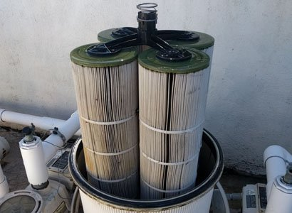 Rancho Santa Fe Pool Filter Clean New Cartridges By Protouch