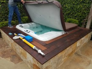 Hot Tub Cleaning Rancho Santa Fe Sundance Spas In-Ground-ProTouch
