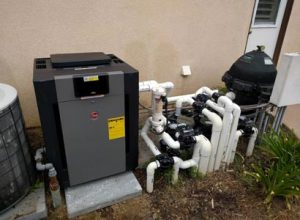 Poway Pool Heater Replacement Of Old Rusted Raypak