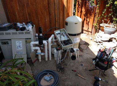 Moved pool automation to the fense Penasquitos