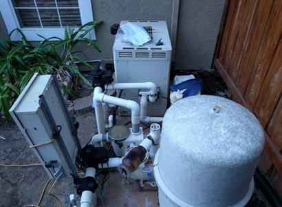 Pool repairs needed in Rancho Penasquitos