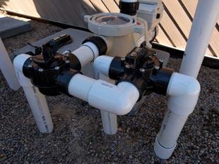 Pentair pool pump installed in La Jolla, CA