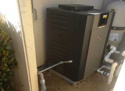 Raypak pool heater upgrade in Rancho Santa Fe, CA