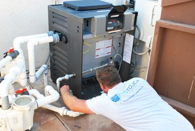 Pool Heater Installation In San Diego County Protouch