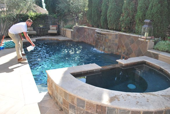 Pool Cleaning Service Customer In Carmel Valley Protouch