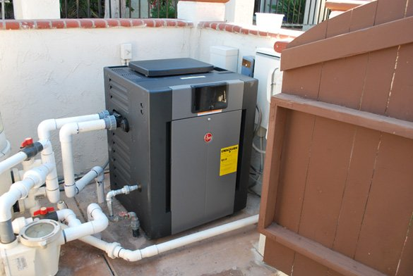 Raypak Pool Heater Installation In Rancho Bernardo Protouch