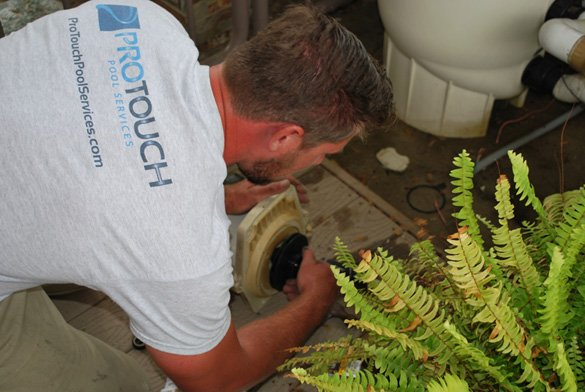 Installing-the-impellor-for-Pentair-pool-pump-in-Point-Loma,-CA