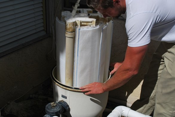 Pool Heater Repair And Filter Clean In Encinitas Protouch