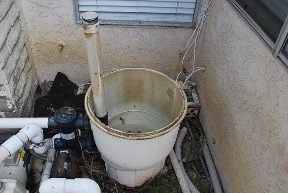 Pentair D.E. pool filter clean and repair in Encinitas