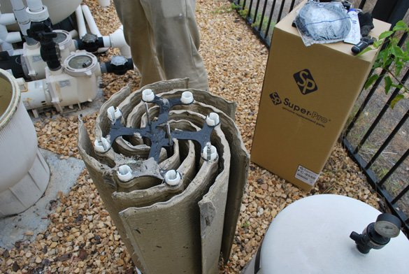Pool Filter Repair Replaced Grids In Carmel Valley