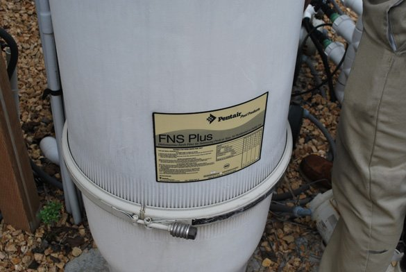 Repairing a backwash valve and Installing new filter grids on a Pentair FNS Pool Filter