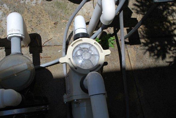 New-.75hp-Pentair-WhisperFlo-energy-efficient-pool-pump-in-Carmel-Valley,-San-Diego,-92130