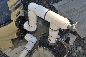 Pool Plumbing Repair With New Filter In Tierrasanta
