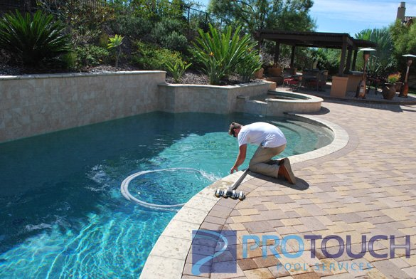 brick paver pool decking