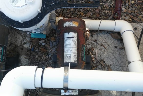 Sta-Rite Max-e-glas II pool pump motor