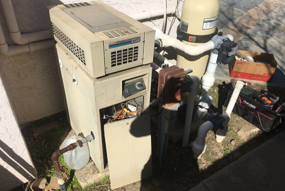 Teledyne Laars EPC Series One heater