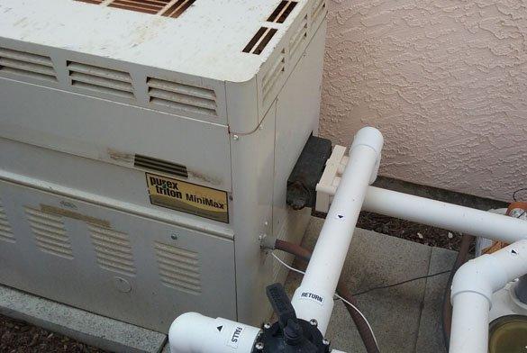 Minimax Plus 400 pool heater