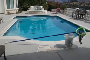 beautiful view at this Escondido pool service account