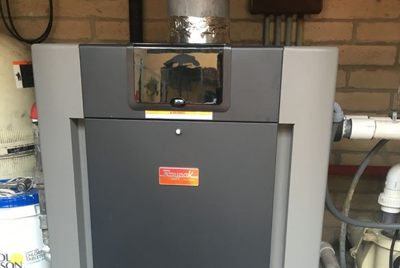 Raypak 406A asme pool heater