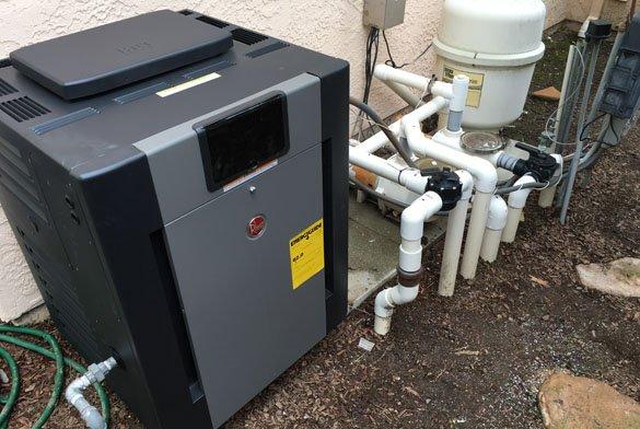 Raypak 406A pool heater