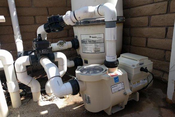 Replacing old pump with Pentair IntelliFlo 2 VST la Jolla