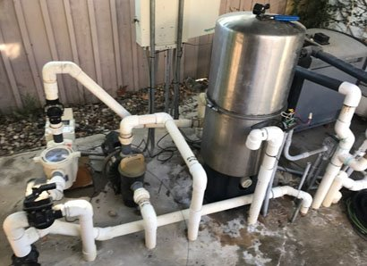 Stainless steel pool filter replacement Escondido