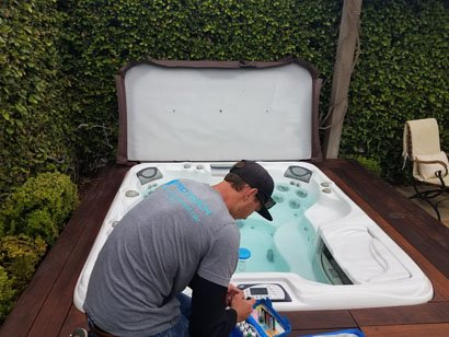 Sundance hot tub service proper water chemistry