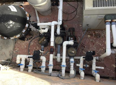 Replace old pool equipment in Rancho Santa Fe