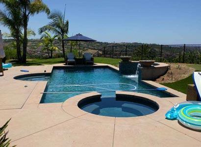 Beautiful pool andspain Rancho Santa Fe,CA