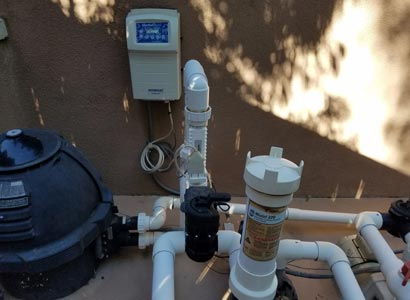 Saltwater chlorine system in 4S Ranch