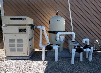 Pool repairs in La Jolla new Pentair pool equipment