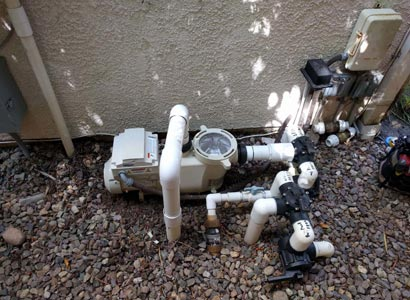 Energy efficient, variable speed pool pump by Pentair