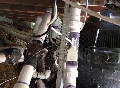 AutoPilot saltwater system in La Jolla nees to be replaced