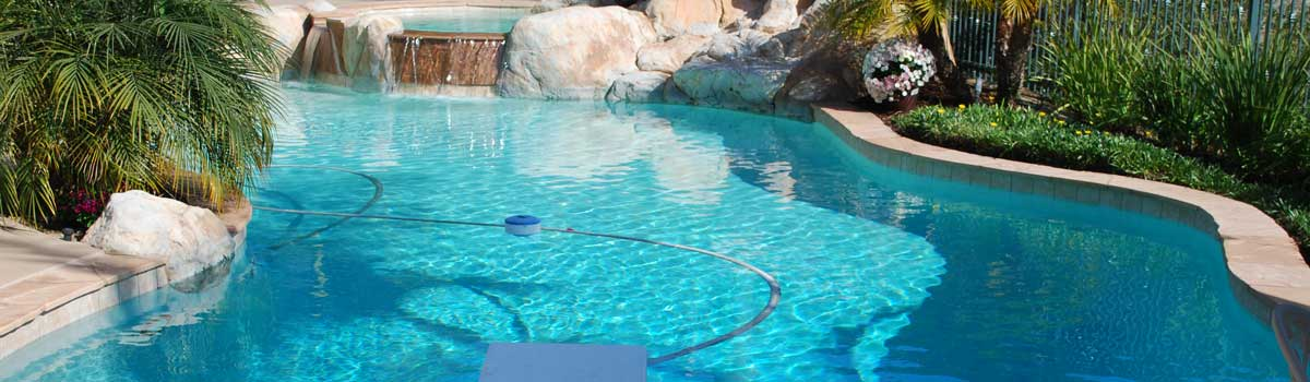 Pool service Penasquitos with natural and artificial stone features