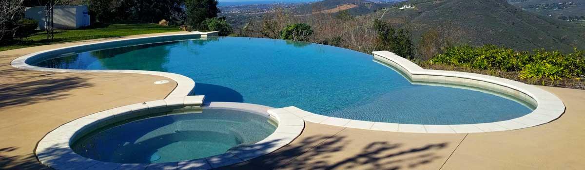 Pool service Rancho Santa Fe with amazing views